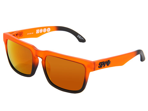 Spy Optic - Helm (Orange Crush/Bronze/Orange Spectra) Fashion Sunglasses