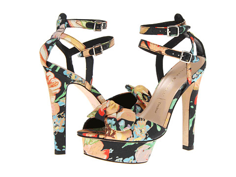 Loeffler Randall - Dahlia (Dark Floral) High Heels