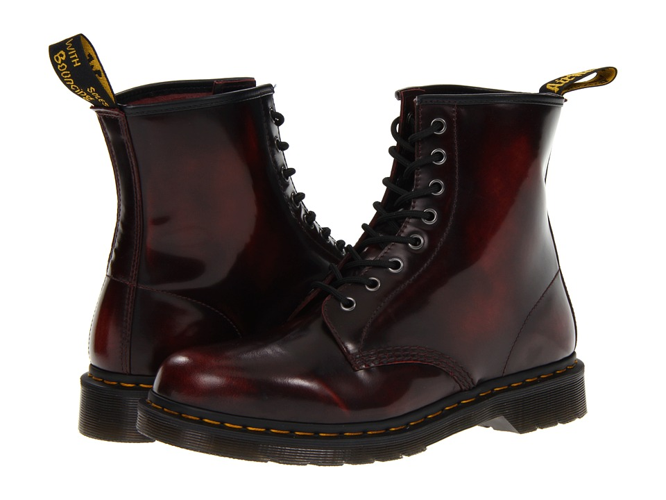 Dr. Martens 1460 (Cherry Red Arcadia) Lace-up Boots