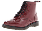 Dr. Martens - Affleck Brogue Boot (Oxblood Patent Lamper) - Footwear