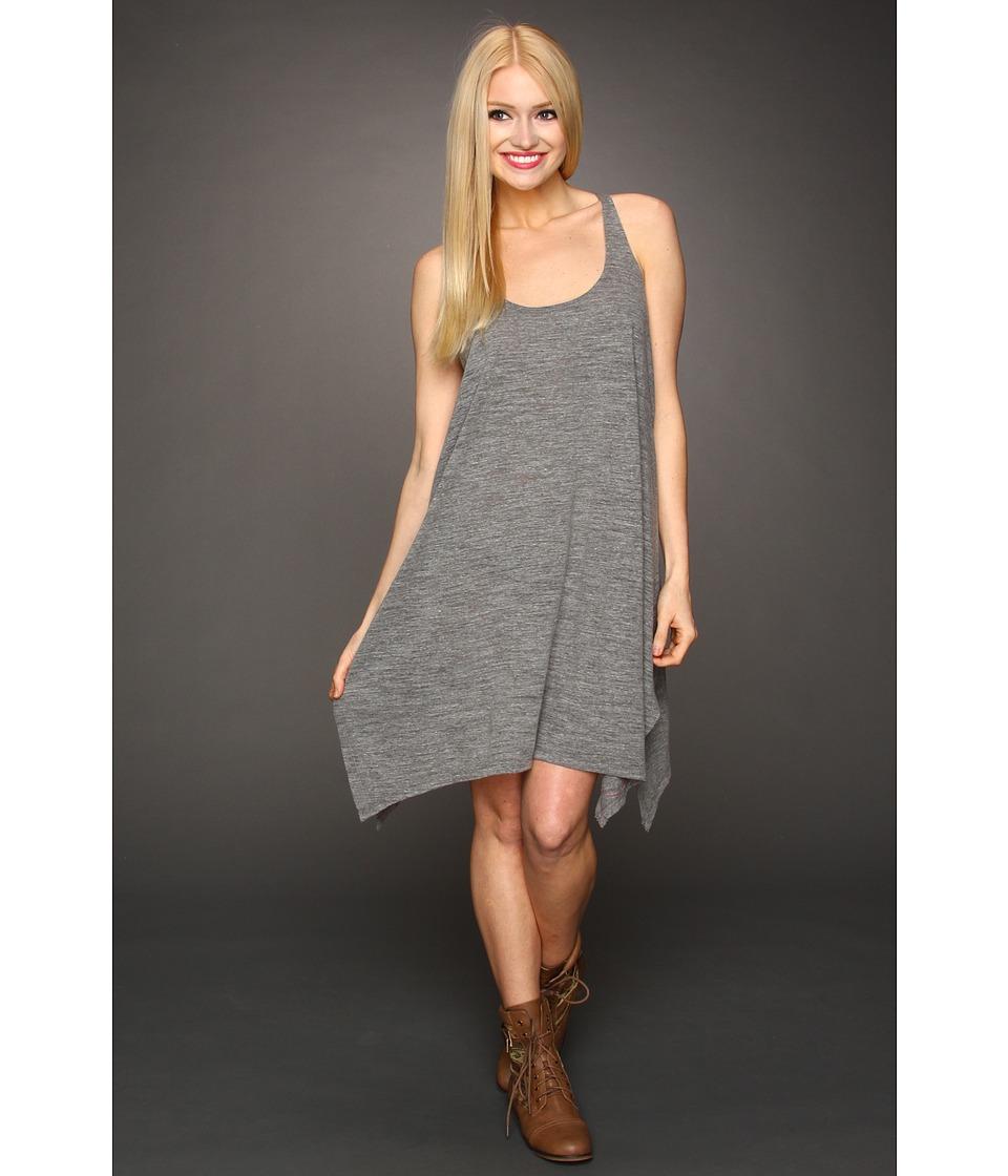 Lucky Brand Bloom Town Dress Womens Dress (Gray)