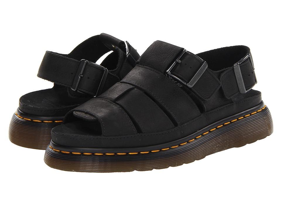 Dr. Martens Flash Fisherman Sandal (Black Wyoming) Sandals