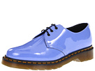 Dr. Martens - 1461 3-Eye Gibson (Dusty Blue Patent Lamper) - Footwear
