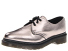 Dr. Martens - 1461 3-Eye Gibson (Pewter) - Footwear