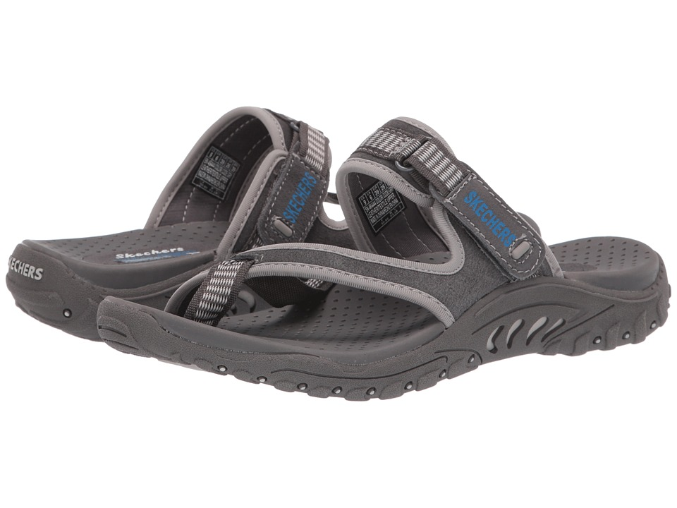 SKECHERS - Reggae - Rasta (Gray) Women's Sandals