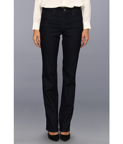 NYDJ - Hayden Straight Leg Long Inseam in Dark Enzyme (Dark Enzyme) Women