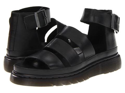 Dr. Martens - Clarissa Chunky Strap Sandal (Black) Women's Sandals