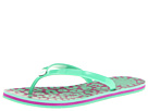Marc by Marc Jacobs - Rita the Cheetah Rubber Flip Flop (Rubber Green) - Footwear
