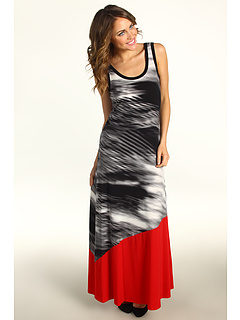SALE! $69.99 - Save $70 on Calvin Klein Maxi Dress (Black Grey 2) Apparel - 49.83% OFF $139.50
