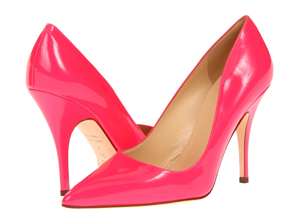 Kate Spade New York - Licorice (Fuxia Flouro Patent) High Heels