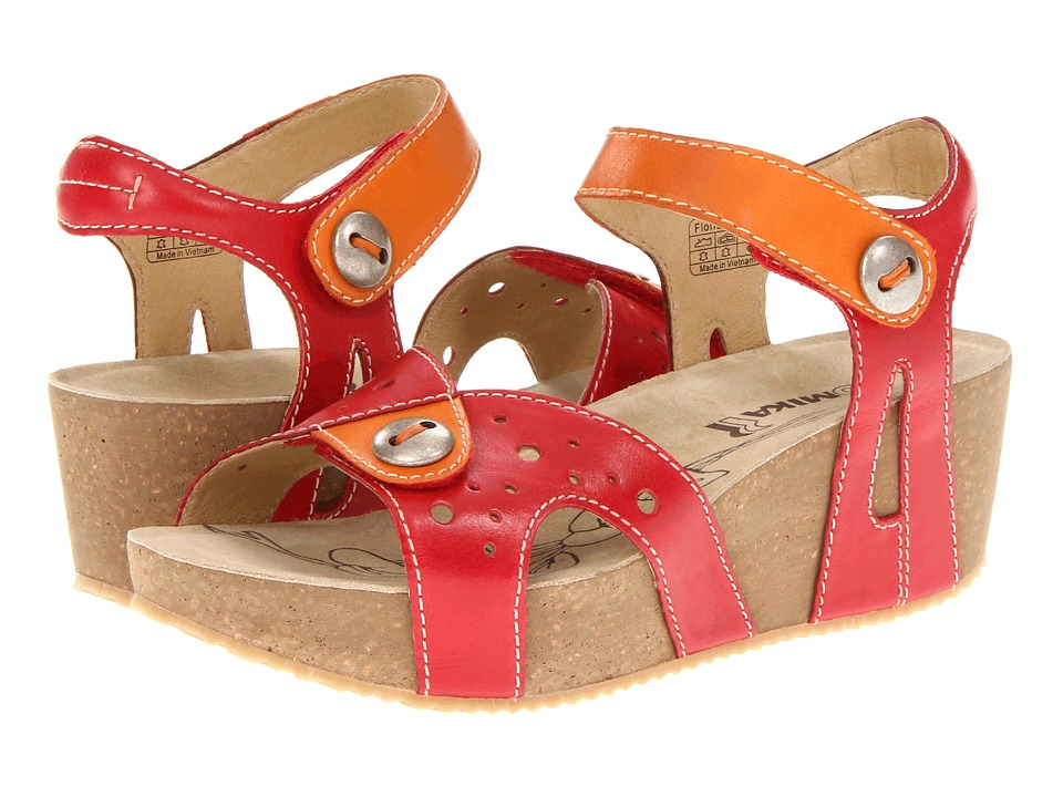 Romika - Florida 05 (Red/Mango) Women's Sandals