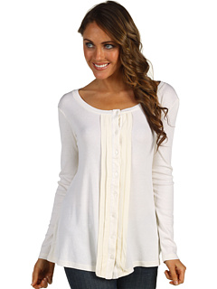SALE! $39.99 - Save $59 on Red Dot L S Swing Pleated Top (Off White) Apparel - 59.61% OFF $99.00
