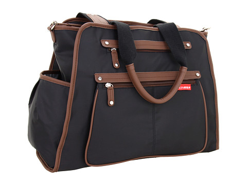 Skip Hop - Grand Central Take It All Diaper Bag (Black/Russet) Diaper Bags