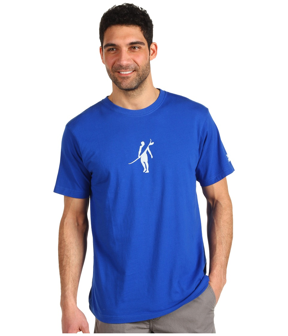 Toes on the Nose - Dawn Patrol T-Shirt (Cobalt/Cobalt/Academy) Men's T Shirt