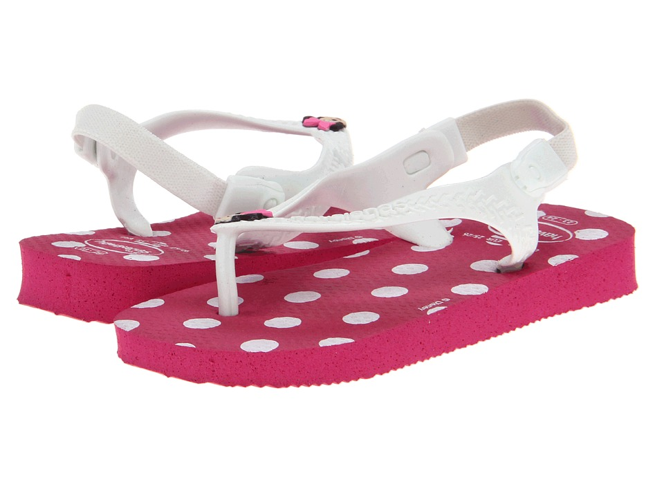 Havaianas Kids - Disney Classics (Toddler) (Super Pink) Girls Shoes