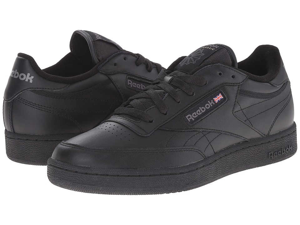 Reebok Lifestyle - Club C (Black/Charcoal) Men's Classic Shoes