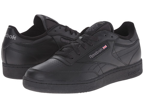 Reebok Lifestyle - Club C (Black/Charcoal) Men