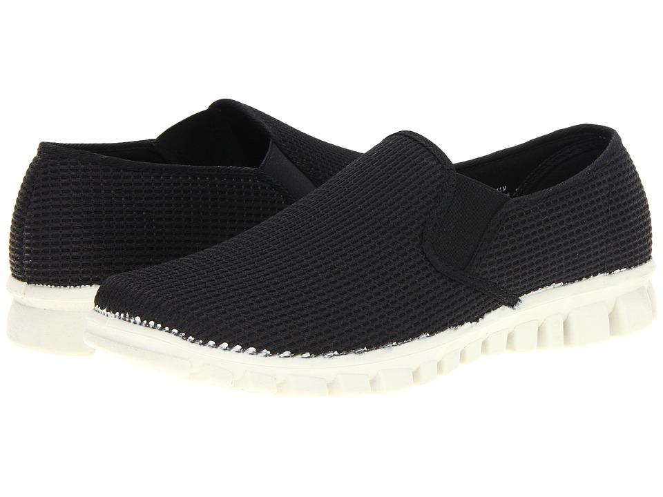 Deer Stags Dynasty Mens Slip on Shoes (Black)
