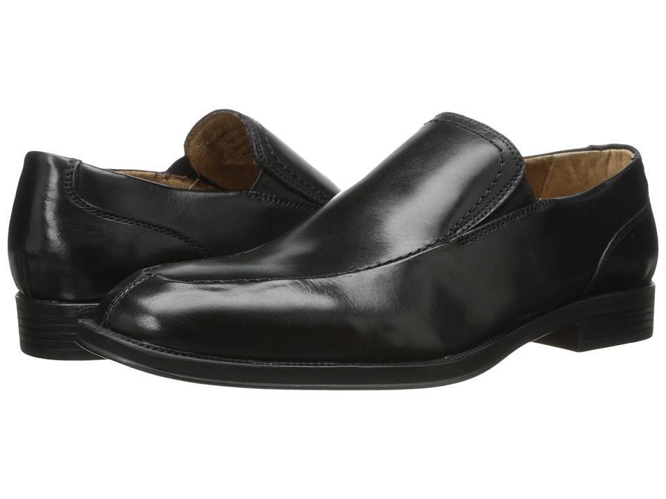 Florsheim - Urbane Moc Slip (Black) Men's Slip on Shoes