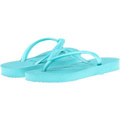 SALE! $9.99 - Save $9 on Havaianas Kids Slim Flip Flops (Toddler Little Kid Big Kid) (Pool Green) Footwear - 47.42% OFF $19.00