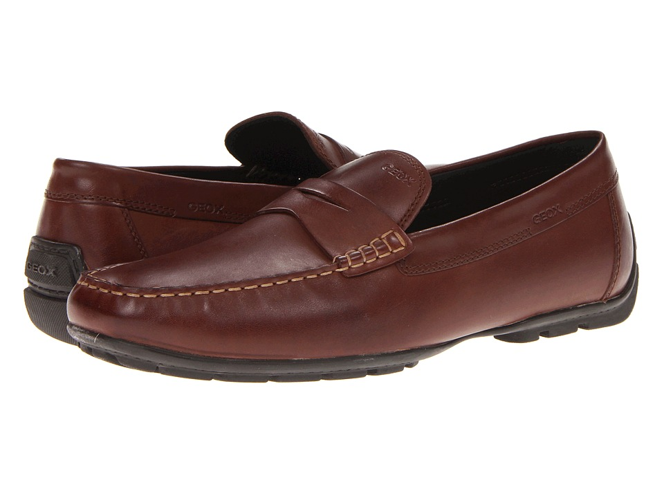 Geox - U Monet 16 (Coffee) Men's Slip on Shoes