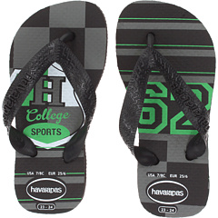 SALE! $9.99 - Save $7 on Havaianas Kids Athletic (Toddler Little Kid Big Kid) (Black) Footwear - 41.24% OFF $17.00