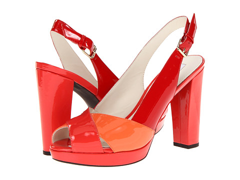 Geox - D New Egizia 2 (Red/Coral/Peach) High Heels