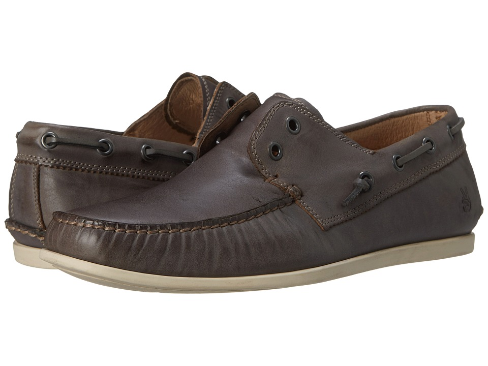 John Varvatos - Schooner Boat (Lead) Men's Slip on Shoes