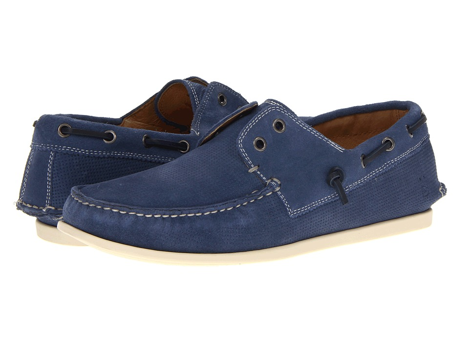 John Varvatos - Schooner Boat (Stream) Men's Slip on Shoes