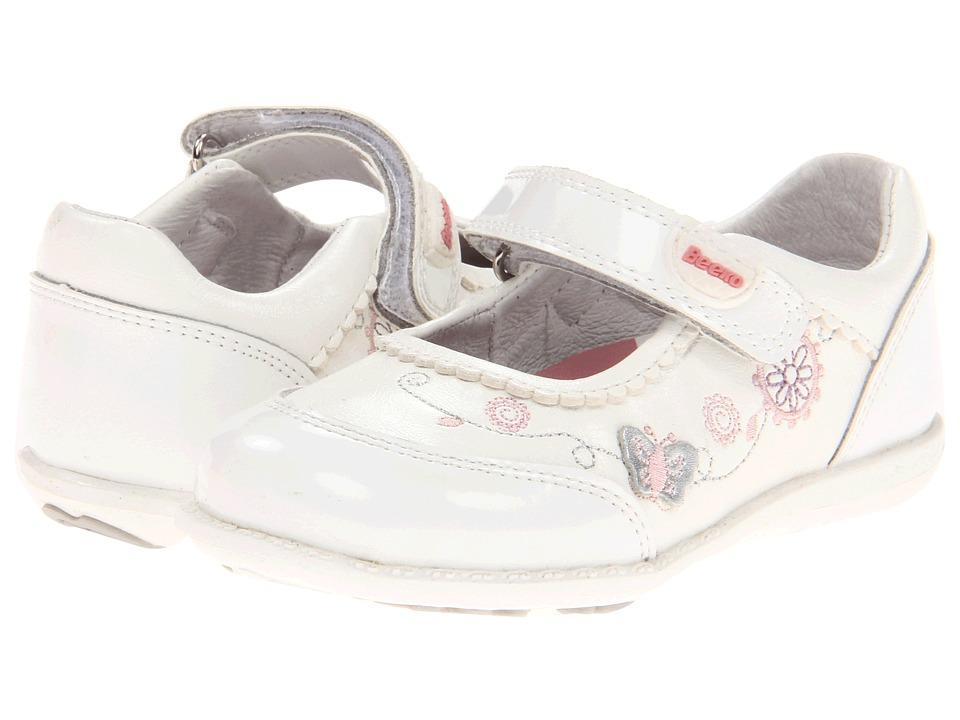Beeko - Goldy (Infant/Toddler) (White) Girls Shoes