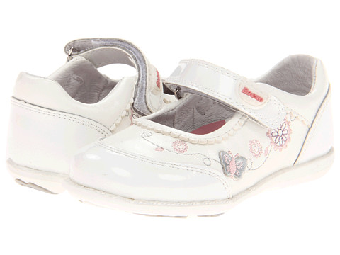 Beeko - Goldy (Infant/Toddler) (White) Girls Shoes