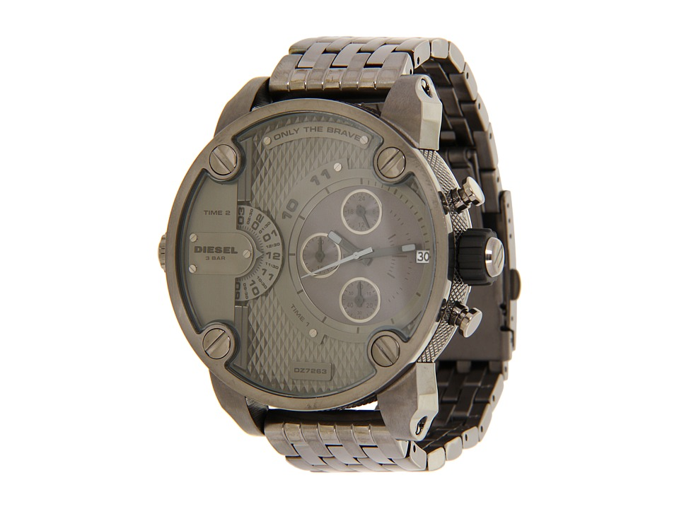 Diesel - SBA Only The Brave Watch - DZ7263 (Gun) Chronograph Watches