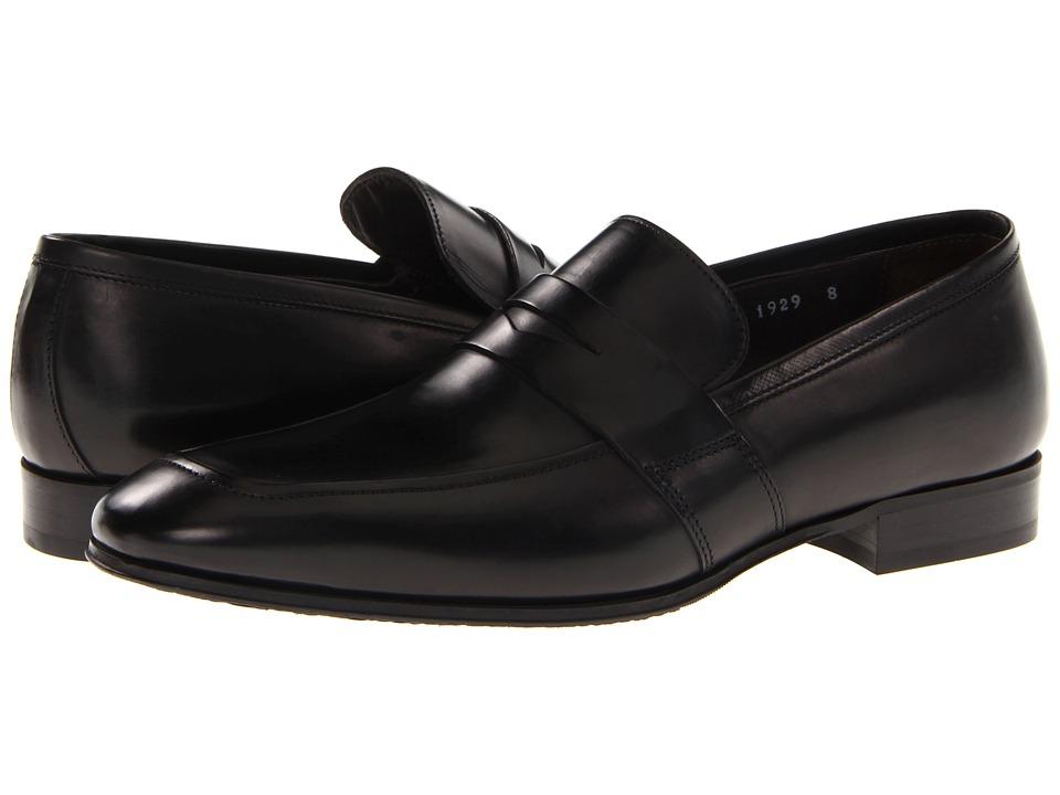 To Boot New York - Senato (Black) Men's Slip-on Dress Shoes