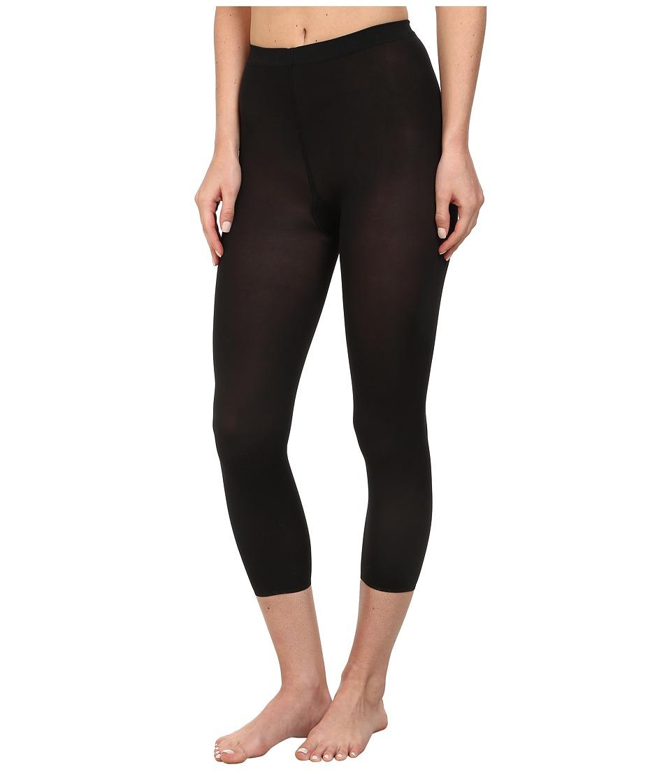 Wolford - Velvet 66 Capri Leggings (Black) Hose