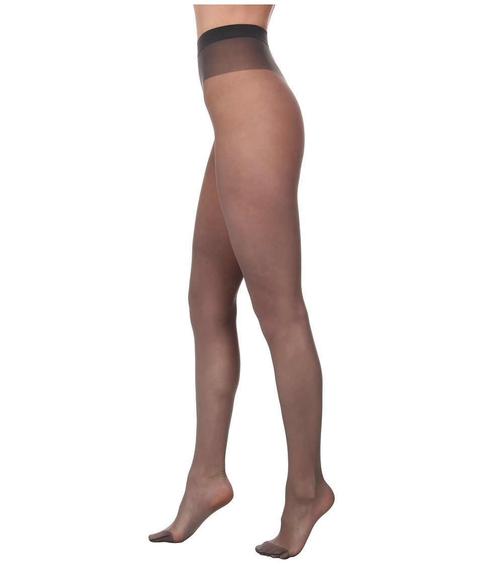 Wolford - Individual 10 Tights (Steel/Stealth Gray/Stealth Gray) Hose