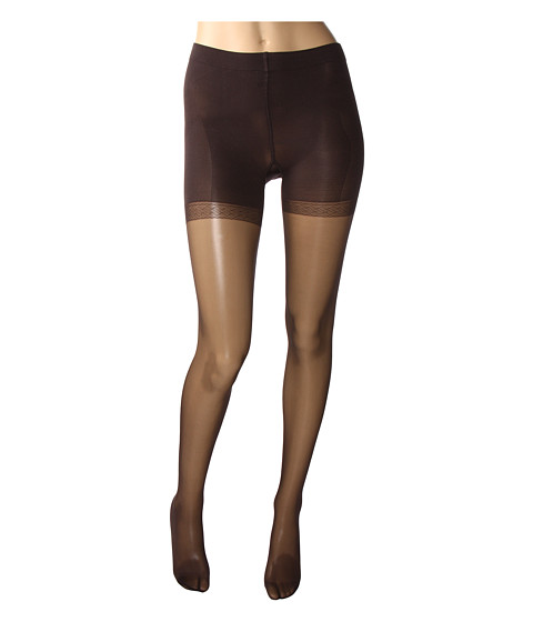 Wolford - Synergy 20 Push-Up Panty Tights (Nearly Black) Control Top Hose