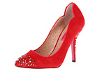 Betsey Johnson for The Cool People - Libbii (Red Suede) - Footwear