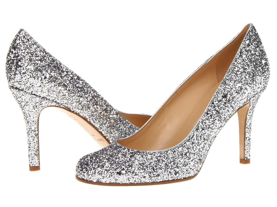 Kate Spade New York Karolina (Silver Glitter/Silver Metallic Nappa) Women