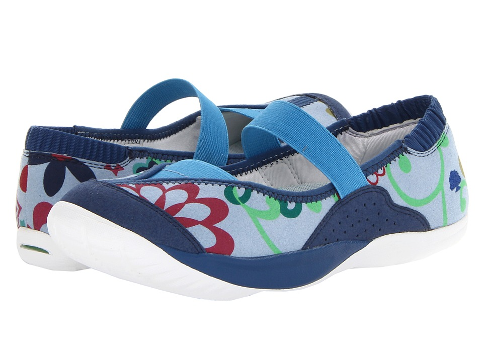 Kalso Earth - Intrigue Too (Blue Foral) Women