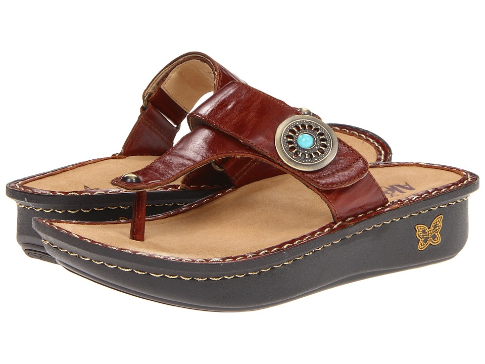 Alegria - Carina (Brown Pull Up) Women's Sandals