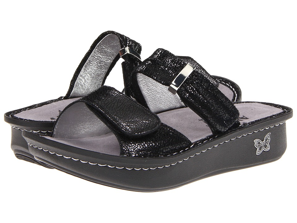 Alegria - Karmen (Black Metallic Fun) Women's Sandals