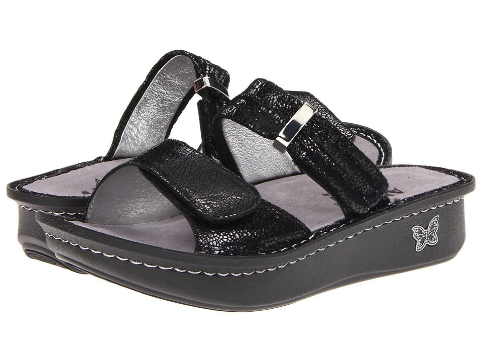 Alegria - Karmen (Black Metallic Fun) Women's Sandals