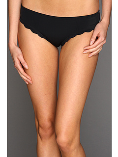 SALE! $16.99 - Save $21 on Roxy Sun Dancer Scalloped Cheeky Brief (True Black) Apparel - 55.29% OFF $38.00