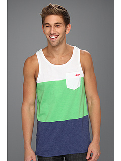 SALE! $17.5 - Save $18 on Oakley Mid Coast Tank Top (Island Green) Apparel - 50.00% OFF $35.00