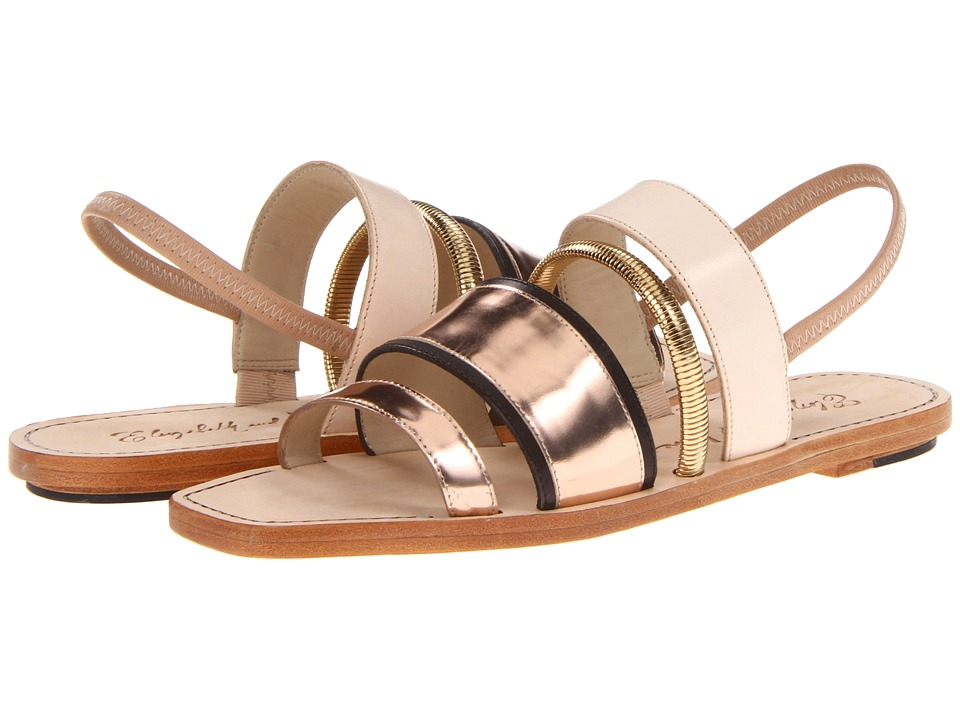 Elizabeth and James - Nicki (Blush Multi) Women's Dress Sandals