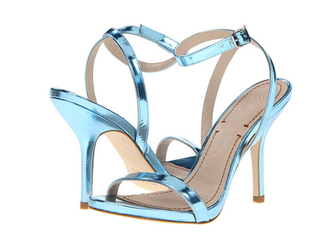 Elizabeth and James - Toni (Blue Metallic) High Heels