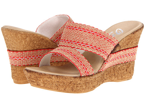 Onex - Africa (Red) Women's Wedge Shoes
