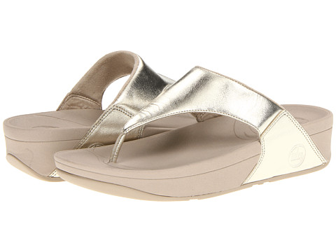 FitFlop - Lulu (Gold) Women's Sandals