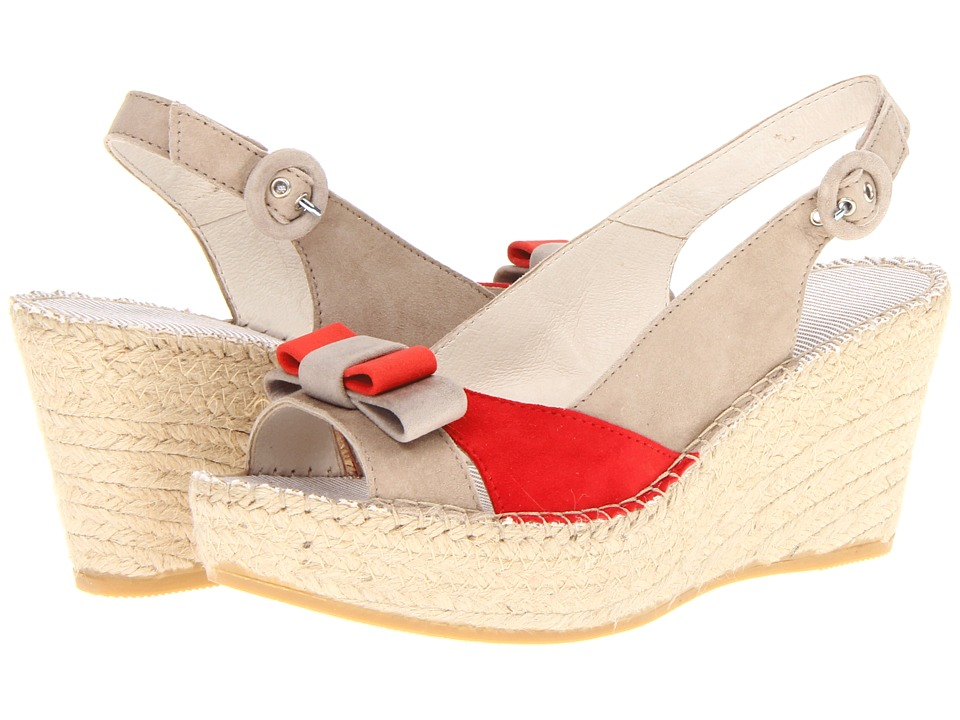 Vidorreta - Georgee (Red Combo) Women's Sandals