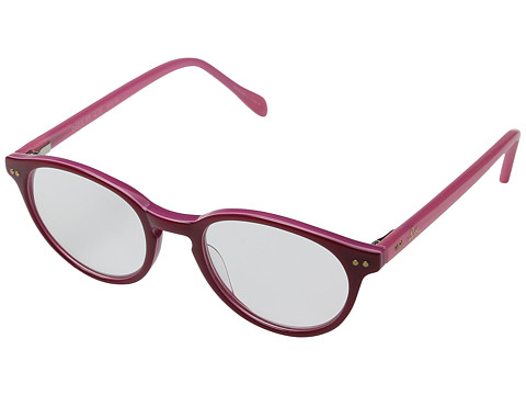 Lilly Pulitzer - Oasis (Red Pink Laminate) Reading Glasses Sunglasses